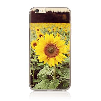 Για Με σχέδια tok Πίσω Κάλυμμα tok Λουλούδι Μαλακή TPU για AppleiPhone 7 Plus iPhone 7 iPhone 6s Plus/6 Plus iPhone 6s/6 iPhone SE/5s/5