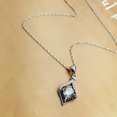 Damskie Breloczki Kryształ górski Imitacja diamentu Klasyczny Godny podziwu Modny Silver Biżuteria Na Codzienny Casual 1szt