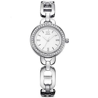 SK Bayanların Elbise Saat Moda Saat Quartz / Alaşım Bant Günlük Zarif Gümüş Gül Altın Gümüş Gül Altın