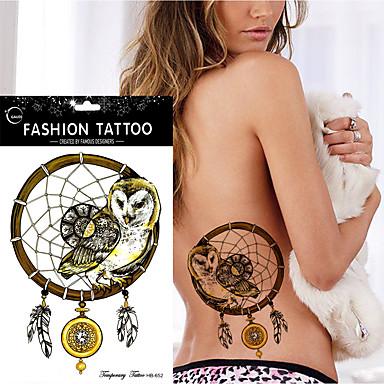 Αυτοκόλλητα Τατουάζ Σειρά Άνιμαλ Non Toxic Waterproof Γυναικεία Αντρικά Εφηβικό Flash Tattoo προσωρινή Τατουάζ