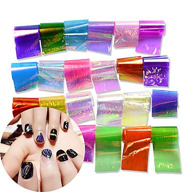 24 Nail Art autocolant Aplicația de transfer de apă machiaj cosmetice Nail Art Design