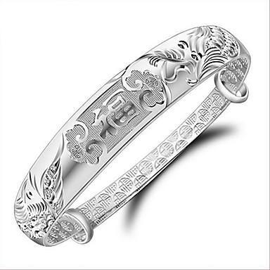 Kadın's Bilezikler Moda Som Gümüş Ejderha LOVE Mücevher Yılbaşı Hediyeleri Düğün Parti Yıldönümü Doğumgünü Nişan Hediye sevgililer günü