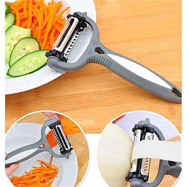 1 parça Çarpma ve Grater For Meyve Sebze için Plastik Paslanmaz Çelik Yüksek kalite Yaratıcı Mutfak Gadget