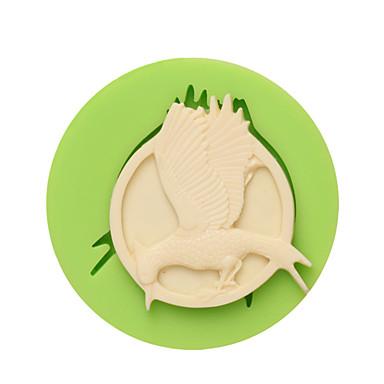 avoin siivet turha muoto savi silikoni muotin kakun koristeluun väri satunnainen