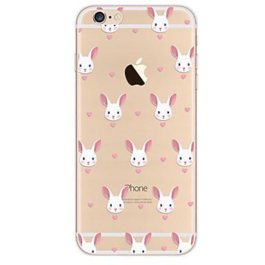 Για Θήκη iPhone 7 Θήκη iPhone 7 Plus Θήκη iPhone 6 Θήκες Καλύμματα Εξαιρετικά λεπτή Με σχέδια Πίσω Κάλυμμα tok Κινούμενα σχέδια Μαλακή TPU