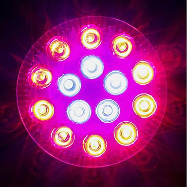 1620-1800 lm E27 Kasvavat valonheittimet 18 ledit Teho-LED Sininen Punainen AC 85-265V