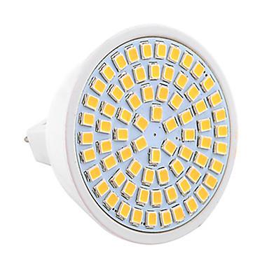 7W GU5.3(MR16) Żarówki punktowe LED MR16 72 SMD 2835 600-700 lm Ciepła biel Zimna biel Dekoracyjna V 1 sztuka