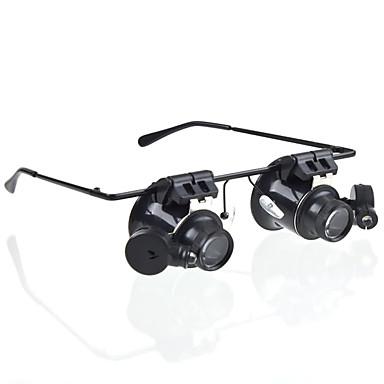 20 Magnifiers/Magnifier Glasses Generic Headset/Eyewear Jewelry General use Money Detector Watch Repair Equipment & Tools Multi-coated
