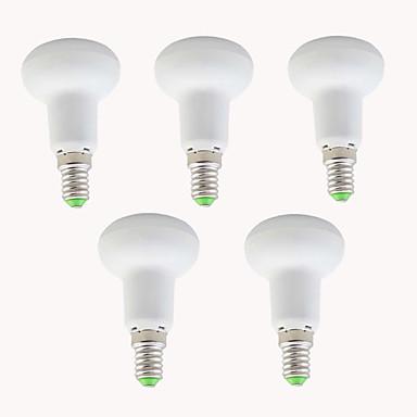 EXUP® 5pcs 5W 450lm E14 Żarówki LED Par R39 10 Koraliki LED SMD 2835 Dekoracyjna Ciepła biel Zimna biel 110-130V 220-240V