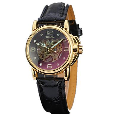 Bărbați ceas mecanic Ceas de Mână Ceas Elegant Ceas La Modă Ceas Sport Mecanism automat Piele Autentică Bandă Charm Casual Multicolor