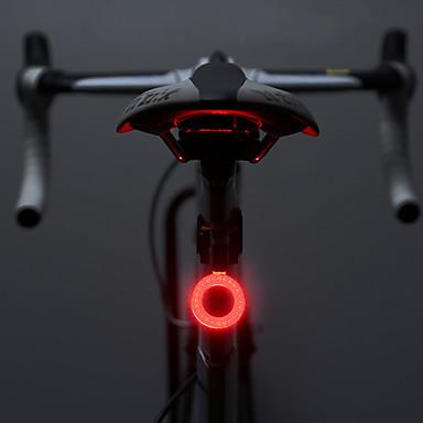 Światła rowerowe Tylna lampka rowerowa LED Kolarstwo Lumenów Bateria Kolarstwo Obuwie turystyczne