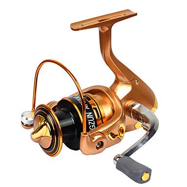 Kołowrotki Kołowrotki spinningowe 2.6:1 11 Łożyska kulkowe wymienny General Fishing-LF2000