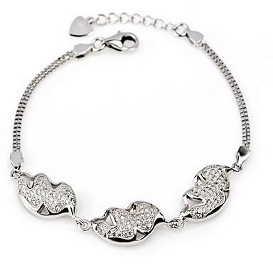 Damskie Bransoletki i łańcuszki na rękę Natura Modny Postarzane luksusowa biżuteria Europejski Srebro standardowe Biżuteria Silver
