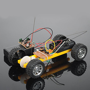 Crab Kingdom Model Assembled Diy Toy Car Assembly Toy Car Two Remote