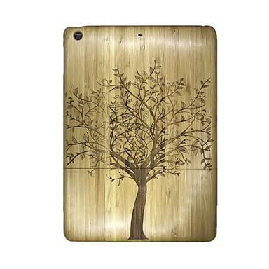 Maska Pentru Apple iPad Air Embosat Capac Spate Copac Greu De lemn pentru iPad Air Apple