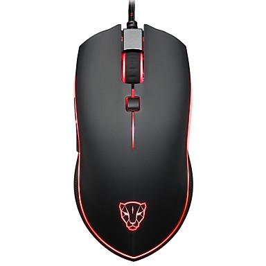 motospeed Przewodowy/a Gaming Mouse Regulowany DPI Podświetlany Programowalny 500/1000/1500/2000/3000/3500/4000