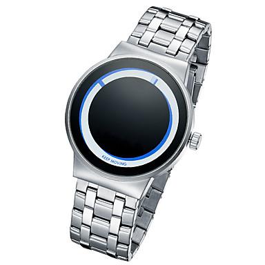 Ανδρικά Μοδάτο Ρολόι Μοναδικό Creative ρολόι Χαλαζίας / κράμα Μπάντα Κρανίο Ασημί Χρυσό Χρυσό Τριανταφυλλί