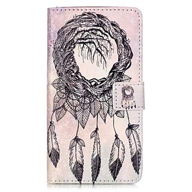Για Πορτοφόλι Θήκη καρτών με βάση στήριξης Ανοιγόμενη Μαγνητική Με σχέδια tok Πλήρης κάλυψη tok Ονειροπαγίδα Σκληρή Συνθετικό δέρμα για