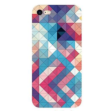 Varten Ultraohut Kuvio Etui Takakuori Etui Geometrinen printti Pehmeä TPU varten AppleiPhone 7 Plus iPhone 7 iPhone 6s Plus/6 Plus iPhone
