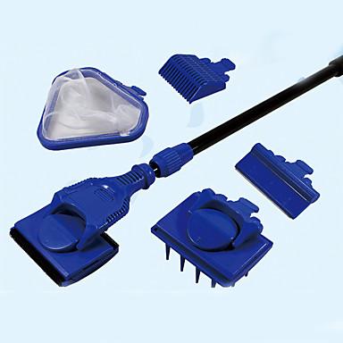 Akvaryumlar Temizleyiciler Ayarlanabilir Plastik