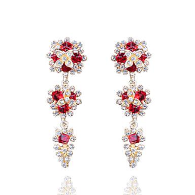 Euroopan muoti boheemi täynnä timantti kristalli korvakorut tyylikäs tyyli