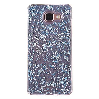 Kılıf Na Samsung Galaxy A5(2016) A3(2016) Odporne na kurz Wzór Czarne etui Połysk Miękkie TPU na A5(2016) A3(2016)