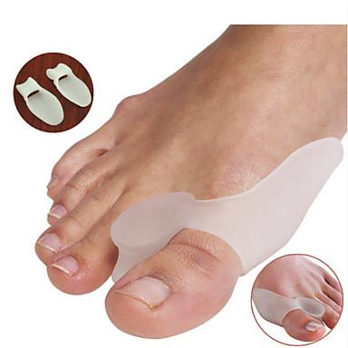 Πόδι Toe Διαχωριστικό & κάλο Pad Γιλέκο για σωστή στάση του σώματος Φορητό σιλικόνη