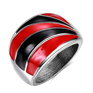 Yüzük Bildiri Yüzüğü - Diğerleri Kişiselleştirilmiş Eşsiz Tasarım Euramerican Hiphop Moda Punk Çeşitli Renk halka Uyumluluk Parti Özel