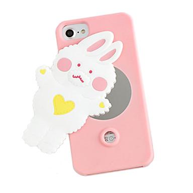 Etui Käyttötarkoitus Apple iPhone 7 Plus iPhone 7 Peili Takakuori 3D sarjakuva Pehmeä Silikoni varten iPhone 7 Plus iPhone 7 iPhone 6s