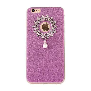 Na Szron DIY Kılıf Etui na tył Kılıf Brokat Miękkie TPU na Apple iPhone 7 Plus iPhone 7 iPhone 6s Plus/6 Plus iPhone 6s/6 iPhone SE/5s/5