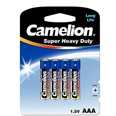 Camelion Camelion aaa karbon çinko batarya 1.5v 4 paket