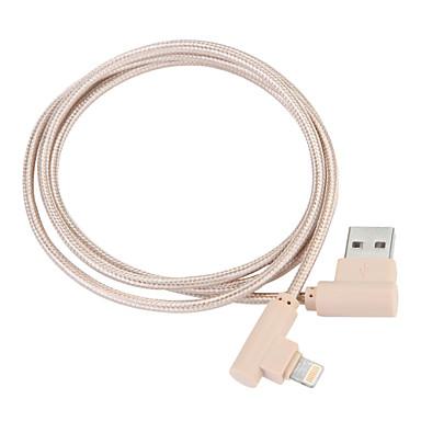 USB 3,0 / Osvětlení Kabel / Nabíjecí kabel / Data a synchronizace Pletený Kabel iPad / Apple / iPhone pro 100 cm Pro Nylon