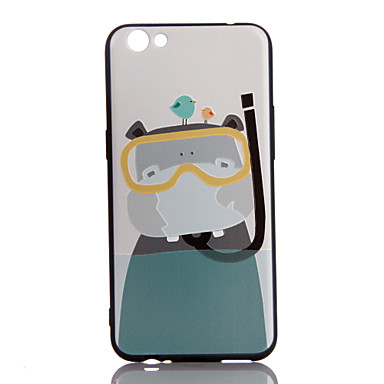 Pentru Ultra subțire Model Maska Carcasă Spate Maska Animal Moale TPU pentru AppleiPhone 7 Plus iPhone 7 iPhone 6s Plus/6 Plus iPhone