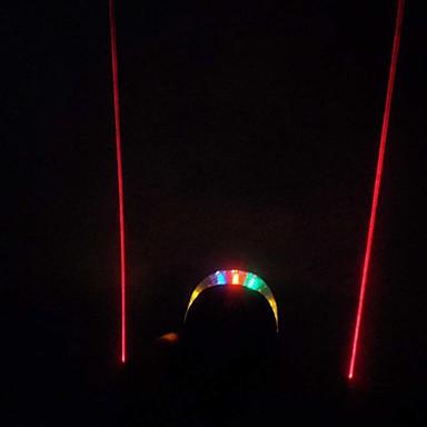 Φώτα Ποδηλάτου Πίσω φως ποδηλάτου LED Ποδηλασία Αδιάβροχη Μικρό Μέγεθος Κατάλληλο για Οχήματα Εύκολη μεταφορά Λέιζερ Μπαταρία Λιθίου