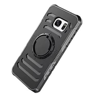 Etui Käyttötarkoitus Samsung Galaxy S7 edge S7 Iskunkestävä Käsivarsinauha Käsivarsi Yhtenäinen väri Kova PC varten S7 edge S7