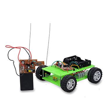 Samochodziki do zabawy Zabawki solarne Zdalne sterowanie Zabawki Samochód Pilot zdalnego sterowania DIY Metal Dla chłopców Sztuk