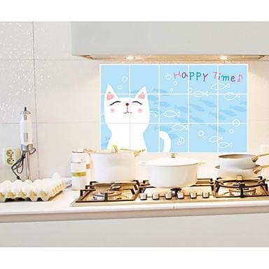لواصق حائط مزخرفة - لواصق حائط الطائرة حيوانات / أزياء / وقت الفراغ مطبخ