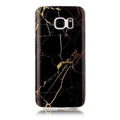 Maska Pentru Samsung Galaxy S7 edge S7 IMD Model Carcasă Spate Marmură Moale TPU pentru S7 edge S7 S6 edge S6 S5 S4 S3