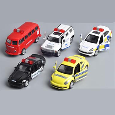 Jucării pentru mașini Seturi de joc pentru vehicule Mașini de Poliție Jucarii Mașină Aliaj Metalic Plastic MetalPistol Clasic & Fără