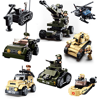 Sluban Lego Militar / Rezervor Creative / Cool Clasic & Fără Vârstă / Șic & Modern / Desen animat Băieți Cadou