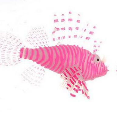 Decorațiune pentru Acvariu Pește Artificial Ne-Toxic & Fără Gust Cauciuc