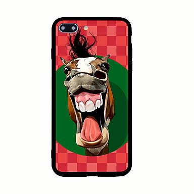 Pentru Model Maska Carcasă Spate Maska Animal Greu Acrilic pentru AppleiPhone 7 Plus iPhone 7 iPhone 6s Plus iPhone 6 Plus iPhone 6s
