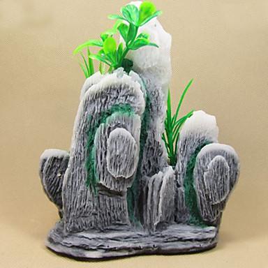 Akvaryum Dekorasyonu Saç Süsleri Zehirsiz ve Tatsız Reçine