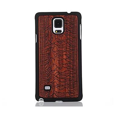 Etui Käyttötarkoitus Samsung Galaxy Kuvio Takakuori Scenery Kova Puinen varten Note 4
