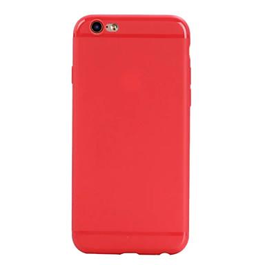 Pentru Ultra subțire Maska Carcasă Spate Maska Culoare solida Moale TPU pentru AppleiPhone 7 Plus iPhone 7 iPhone 6s Plus/6 Plus iPhone