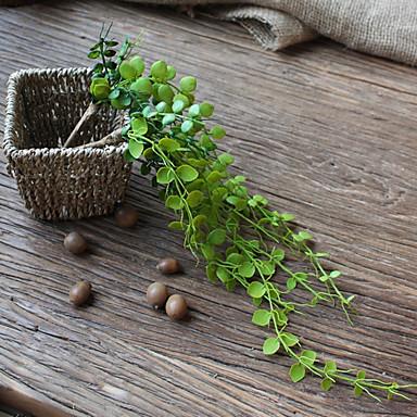 2 Gałąź Plastikowy Rośliny Bukiety na stół Sztuczne Kwiaty Dekoracja domowa Kwiaty ślubne