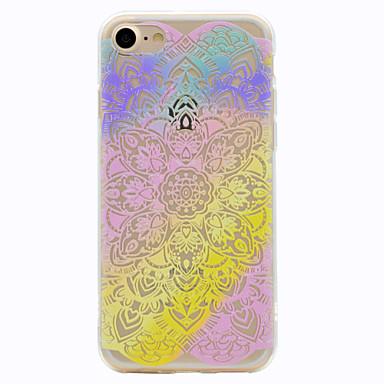 tok Για Apple Με σχέδια Πίσω Κάλυμμα Lace Εκτύπωση Μαλακή TPU για iPhone 7 Plus iPhone 7