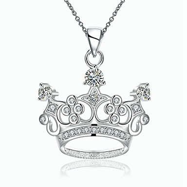 Γυναικεία Crown Shape Εξατομικευόμενο Geometric Μοναδικό Κρεμαστό Κλασσικό Βίντατζ Μποέμ Love Καρδιά Φιλία Μοντέρνα Πανκ Προσαρμόσιμη