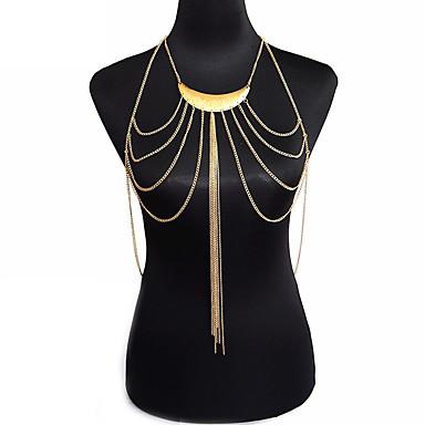 Biżuteria/Łańcuch nadwozia / Belly Chain Stop Modny Bohemia Style Złoty 1szt