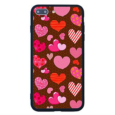 Varten Kuvio Etui Takakuori Etui Sydän Kova Akryyli varten Apple iPhone 7 Plus iPhone 7 iPhone 6s Plus iPhone 6s iPhone SE/5s